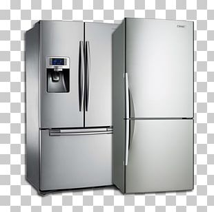 Refrigerator Home Appliance Washing Machines Samsung RFG23UERS Cooking Ranges PNG