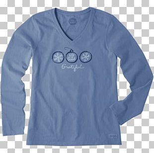 Long-sleeved T-shirt Clothing Life Is Good Company PNG