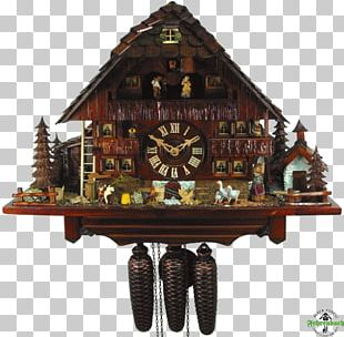 Cuckoo Clock Movement Chalet Titisee-Neustadt PNG