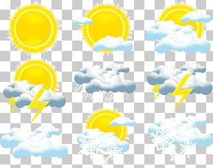 Weather Forecasting Cloud Icon PNG