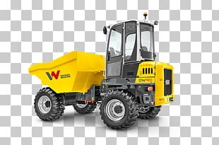 Wacker Neuson Dumper Architectural Engineering Heavy Machinery Four-wheel Drive PNG