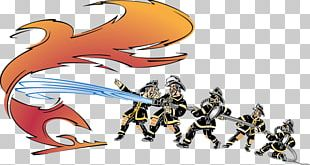 Firefighter Firefighting Cartoon PNG