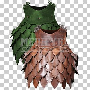 Scale Armour Boiled Leather Cuirass PNG
