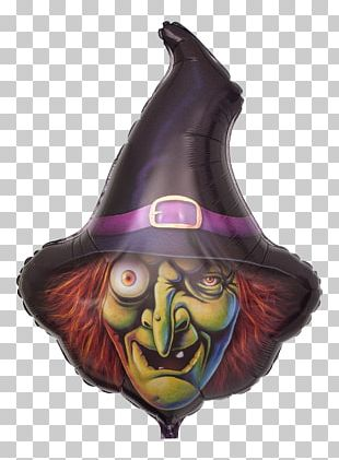 Toy Balloon Halloween Witch Party PNG