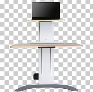 Table Standing Desk Sit-stand Desk Laptop PNG