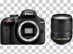 Nikon D3400 AF-S DX Nikkor 18-105mm F/3.5-5.6G ED VR Digital SLR Nikon AF-S DX Nikkor 35mm F/1.8G Nikon AF-S DX Zoom-Nikkor 18-55mm F/3.5-5.6G PNG