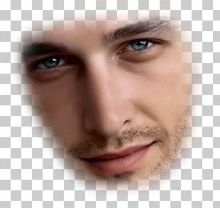 Man Eyebrow Face Head PNG
