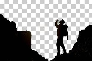 Mountaineering Silhouette Outdoor Recreation PNG