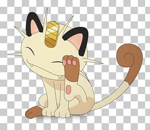 Whiskers Meowth Pokémon Sun And Moon PNG
