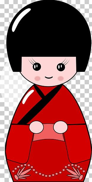 Japanese Dolls Kokeshi Japanese Art PNG