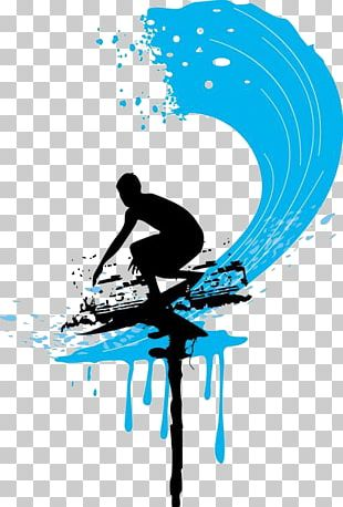 Surfing Cartoon PNG