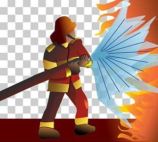 Firefighter Fire Department PNG