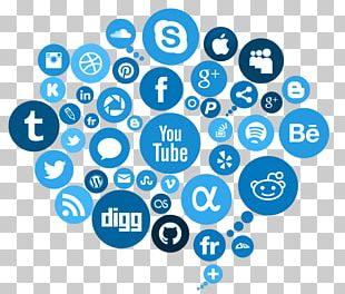 Social Media Marketing Advertising PNG