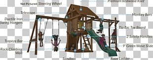 Outdoor Playset Jungle Gym Swing Playground Slide PNG