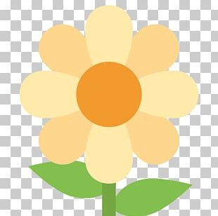 Emoji Flower Computer Icons IPhone Text Messaging PNG