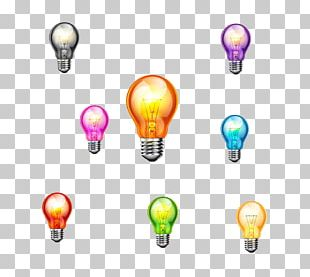 Incandescent Light Bulb Color PNG