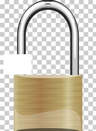 Padlock Combination Lock PNG