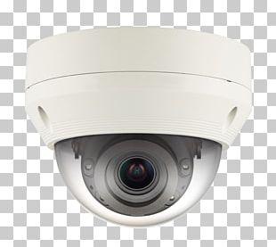 High Efficiency Video Coding IP Camera Hanwha Techwin Varifocal Lens PNG