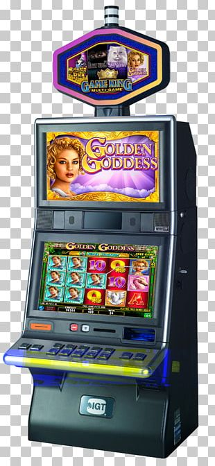 Arcade Cabinet Casino Slot Machine International Game Technology Video Poker PNG