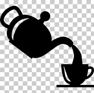 Teapot Coffee Teacup Drawing PNG