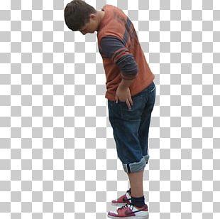 Arm Jeans Child Shorts T-shirt PNG