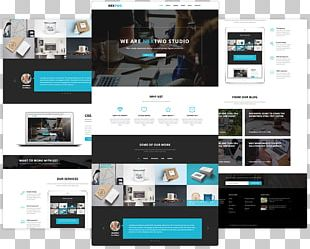 Computer Software Responsive Web Design Web Template System PNG