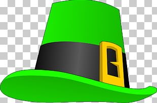 Leprechaun Hat Saint Patrick's Day PNG
