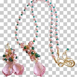 Turquoise Pearl Necklace Bead Body Jewellery PNG