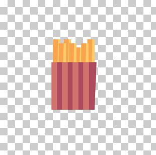 McDonalds Hamburger French Fries Icon PNG