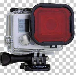 GoPro Hero 4 Photographic Filter Underwater Diving Red PNG