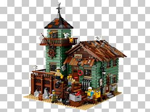 LEGO 21310 Ideas Old Fishing Store Lego Ideas Toy Hamleys PNG