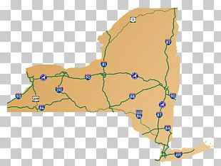 Map Of New York Toll Roads.New York City New York State Thruway Map Highway Road Png