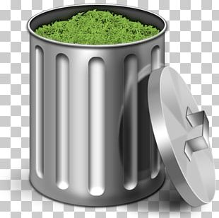 Recycling Bin Waste Container Icon PNG