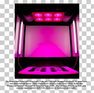 Light-emitting Diode Grow Box Grow Light Lighting PNG