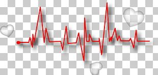 Line Euclidean Heart Rate Pulse PNG