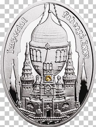 Imperial Coronation Winter Fabergé Egg Duchess Of Marlborough Coin PNG