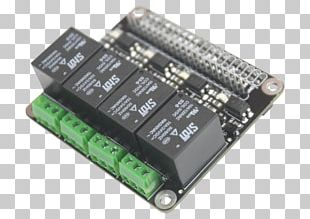 Microcontroller Raspberry Pi 3 ARM Cortex-A53 Single-board Computer PNG