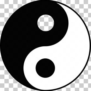 Yin And Yang Taoism Symbol Concept Chinese Philosophy PNG