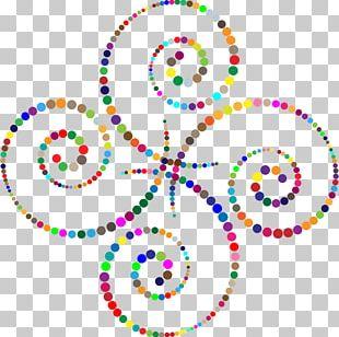 Circle Spiral Abstract Art PNG