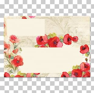 Floral Design Mallows Rose Family Frames PNG