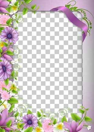 Borders And Frames Border Flowers Frame PNG