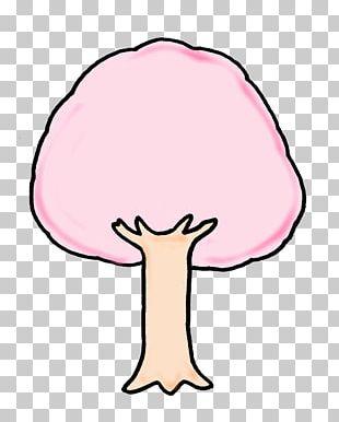 Hanami Cherry Blossom Cartoon PNG