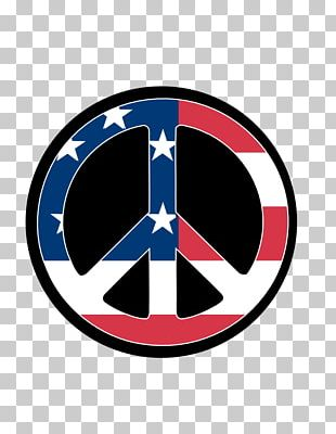 United States Iraq Peace Symbols Hippie PNG