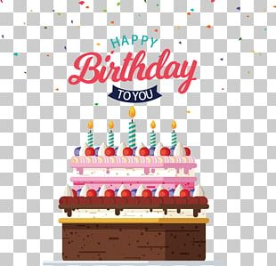 Cake Birthday Card PNG