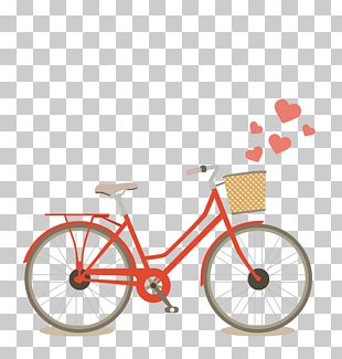 Red Bicycle PNG