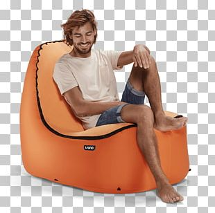 Chair Inflatable Garden Furniture Chaise Longue PNG