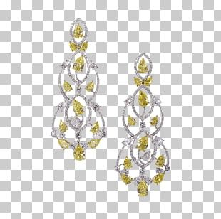 Earring Jewellery Diamond Necklace PNG