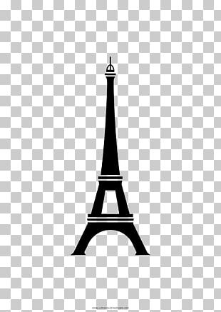 Eiffel Tower Coloring Book Ausmalbild Drawing PNG