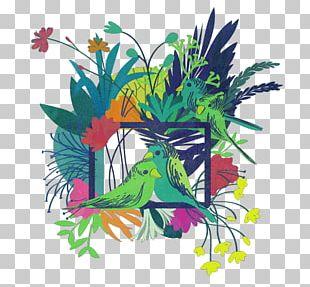 Floral Design Illustration Drawing PNG