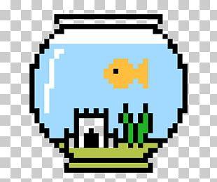 Pixel Art Cross-stitch Fishing Bead PNG